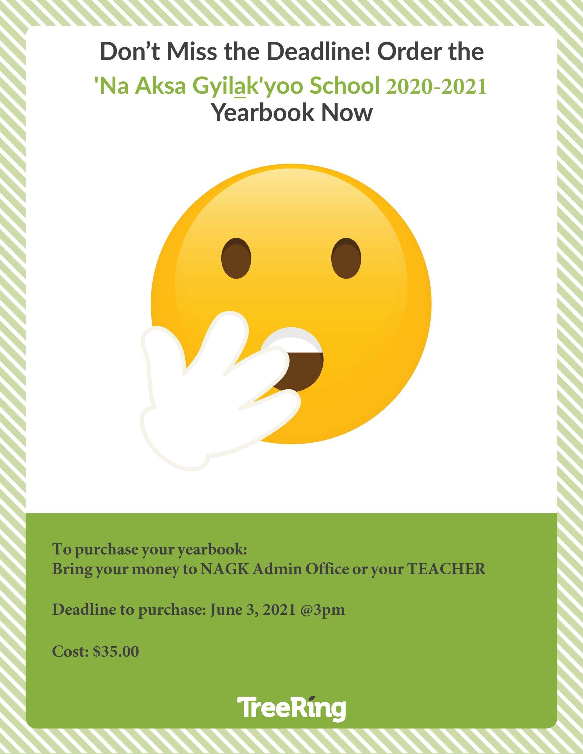 NAGK 2020-21 Yearbook Sales
