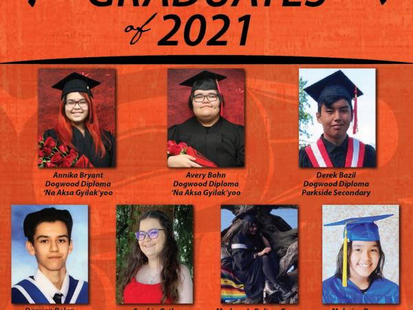 Congratulations to the Graduates of 2021!